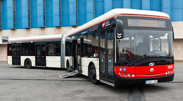 FCC ámbito manages all of the waste generated from the maintenance of the bus fleet and the metro of Área Metropolitana de Barcelona (AMB)